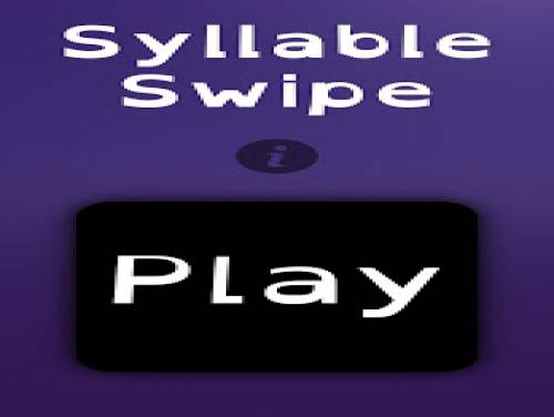 Syllable Swipe: Enredo do jogo