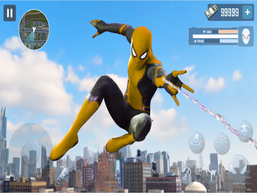 Spider Rope Hero - Gangster New York City: Trame du jeu