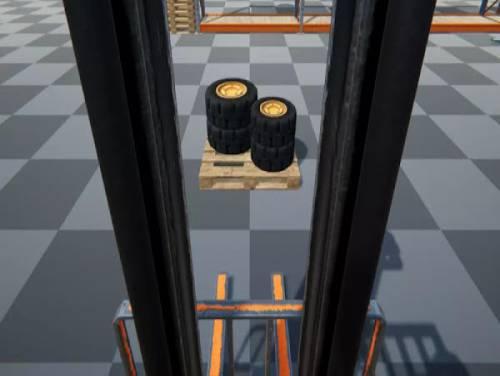 Construction Simulator 2020 PRO Forklift truck: Videospiele Grundstück
