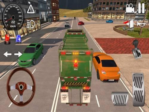 American Trash Truck Simulator 2020: Offline Games: Trama del Gioco
