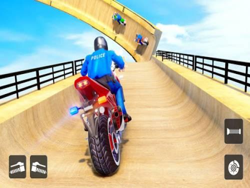 Police Bike Stunt Racing: Mega Ramp Stunts Games: Trama del juego