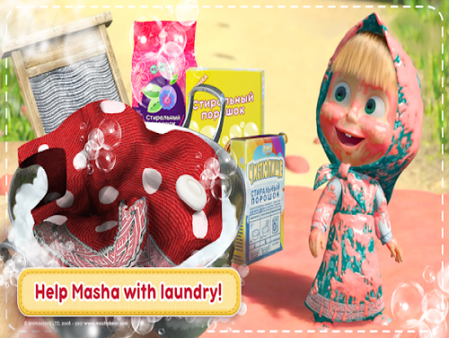 Masha and the Bear: House Cleaning Games for Girls: Trama del Gioco