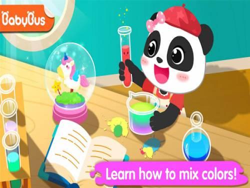 Little Panda's Color Crafts: Trama del juego