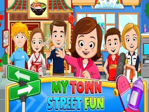 My Town : Street Fun Free: Enredo do jogo