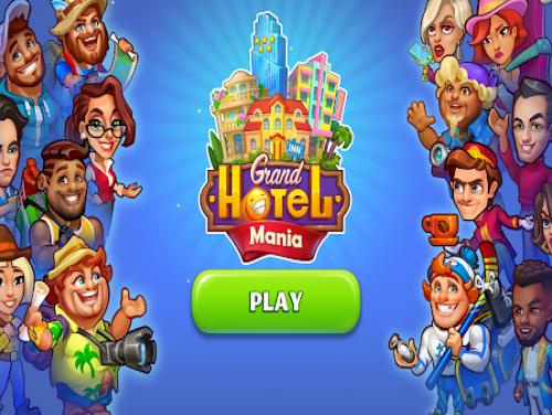 Grand Hotel Mania: Trama del juego