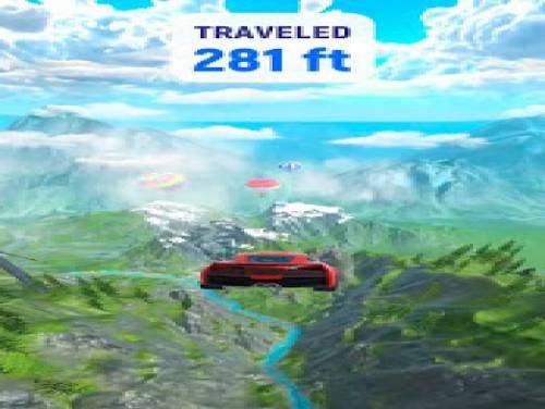 Crash Delivery! Destruction & smashing flying car!: Trama del Gioco