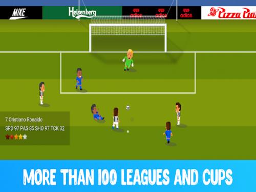 World Calcio Champs: Videospiele Grundstück