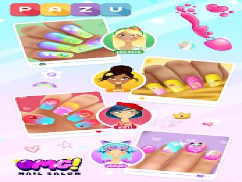 Salone per unghie per ragazze - Giochi per bambini: Videospiele Grundstück