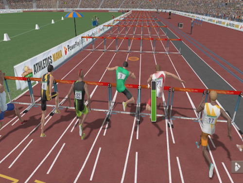 Athletics Mania: Atletica leggera giochi estivi: Videospiele Grundstück