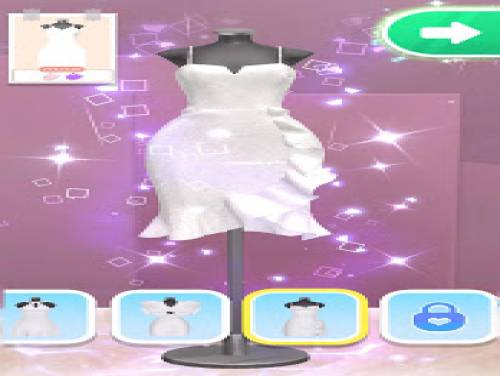Yes, that dress!: Plot of the game
