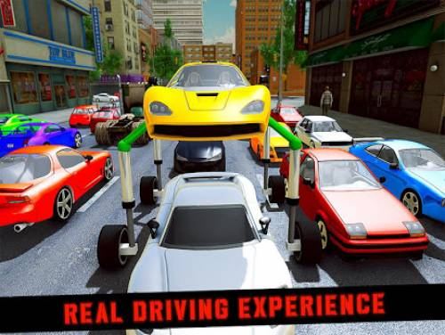 Elevated Car Racing Speed Driving Parking Game: Plot of the game