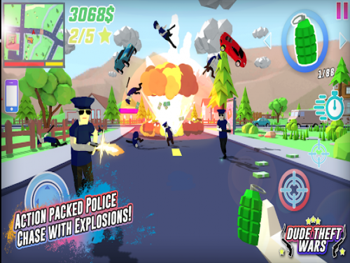 Dude Theft Wars: Open World Sandbox Simulator BETA: Trama del juego
