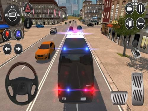 American Police Van Driving: Offline Games No Wifi: Trama del Gioco