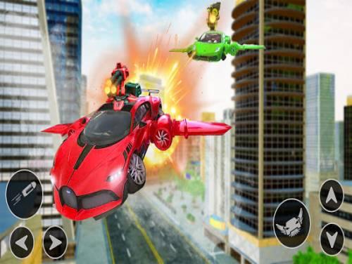 Flying Car Shooting Game: Modern Car Games 2020: Trama del Gioco