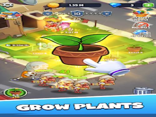 Merge Plants: Zombie Defense: Trama del Gioco