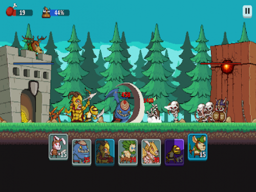 Monsters War: Epic TD Strategy Offline Games: Trama del juego
