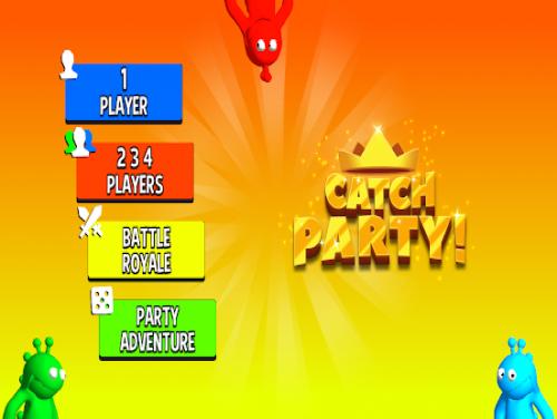 Catch Party: 1 2 3 4 Player Games: Trama del Gioco