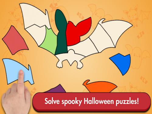 Halloween Shape Jigsaw Puzzles: Trama del Gioco