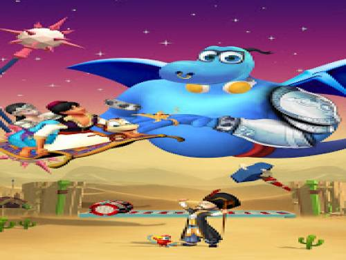 Aladdin : Save The Princess: Trama del Gioco