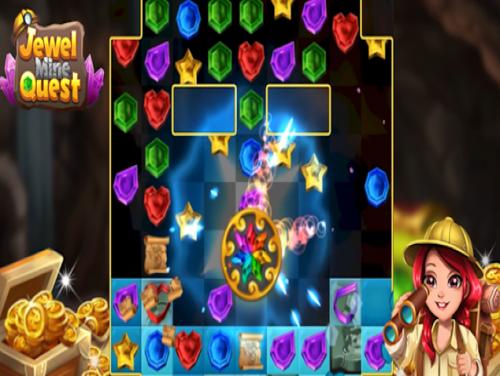 Jewel Mine Quest: Match-3 puzzle: Trama del Gioco