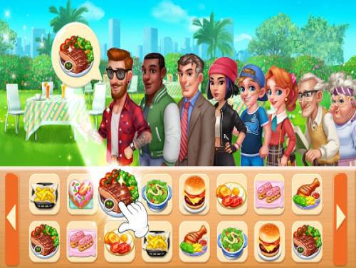 Cooking Frenzy: Madness Crazy Chef Cooking Games: Trama del Gioco