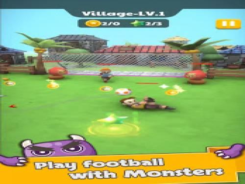 Monster Kick - Casual Soccer: Trama del juego