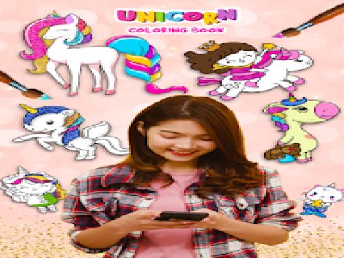 Unicorn Coloring Book & Unicorn Games for Girls: Trama del Gioco