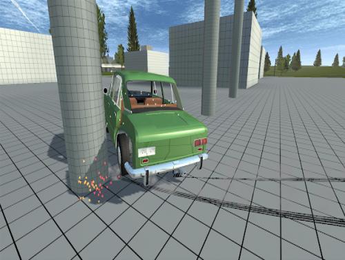 Simple Car Crash Physics Simulator Demo: Trama del Gioco