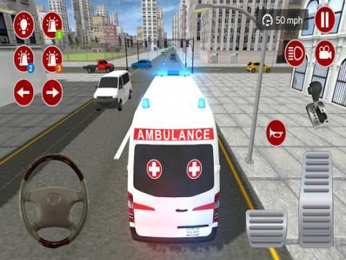 Simulatore di emergenza reale ambulanza 2020: Trama del Gioco
