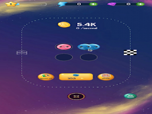 Merge Planets Space : hyper casual game: Trama del Gioco