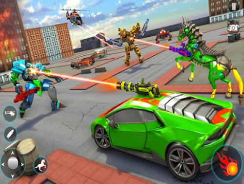 Horse robot car game - Space robot wars: Trama del Gioco