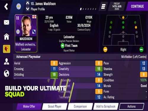 Football Manager 2021 Mobile: Enredo do jogo