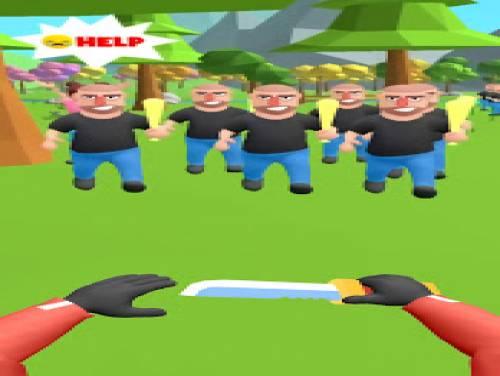 Hit Master 3D: Spie e coltelli: Trama del juego