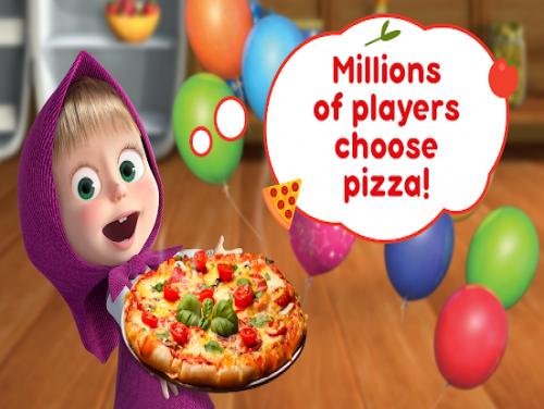 Masha e Orso La Pizzeria! Pizza Giochi di Bambini!: Trama del Gioco