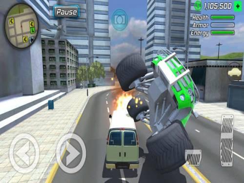 Grand Action Simulator - New York Car Gang: Trama del juego
