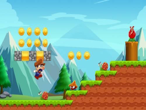 Super Bino Go - New Adventure Game: Plot of the game