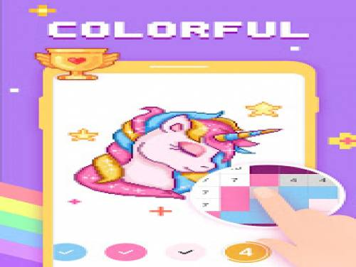 Paint by Number - Pixel Art, Free Coloring Book: Trama del Gioco