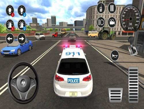 Police Car Game Simulation 2021: Trama del Gioco