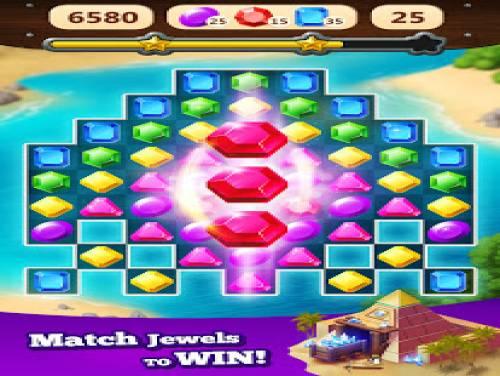 Jewel Rush - Free Match 3 & Puzzle Game: Trama del Gioco