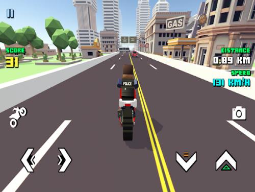 Blocky Moto Racing ???? - motorcycle rider: Trama del Gioco