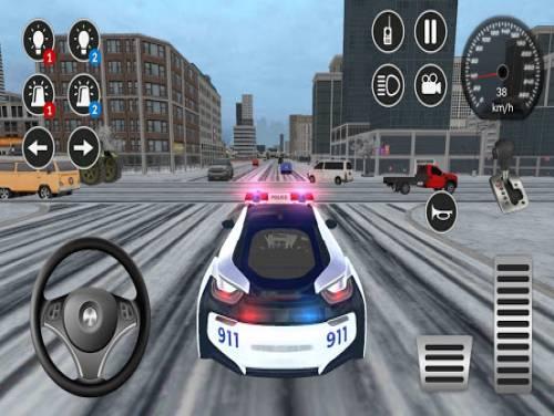 American i8 Police Car Game 3D: Trama del Gioco