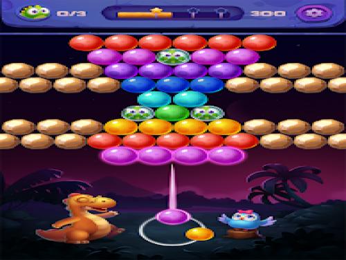 Bubble Shooter: Primitive Dinosaurs - Egg Shoot: Trama del Gioco