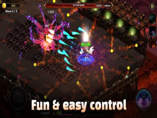 Angel Saga: Hero Action Shooter RPG: Trama del Gioco