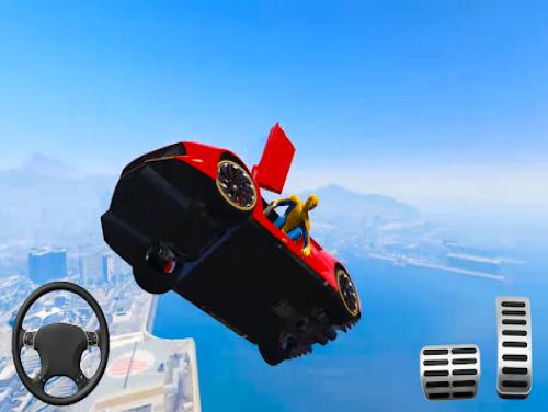 Superhero Car Stunts - Racing Car Games: Trama del Gioco
