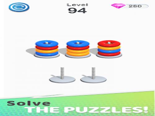 Color Sort Puzzle: Color Hoop Stack Puzzle: Trama del Gioco