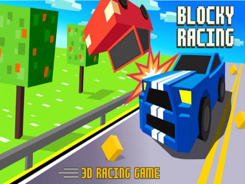 Blocky Racing - Traffic Racer: Trama del Gioco