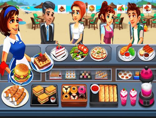 Cooking Cafe - Food Chef: Сюжет игры