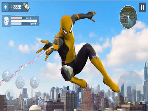Amazing Spider Stickman Hero: Ninja Rope Hero 3D: Trama del Gioco