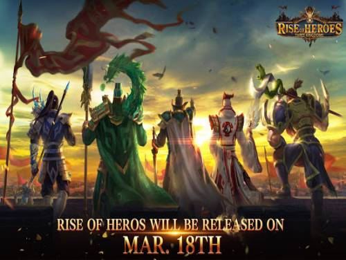 Rise of Heroes: Three Kingdoms: Trama del Gioco