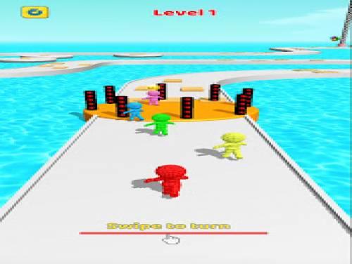Sandman Shortcut Race: Pixel 3d Man Run Game: Trama del Gioco